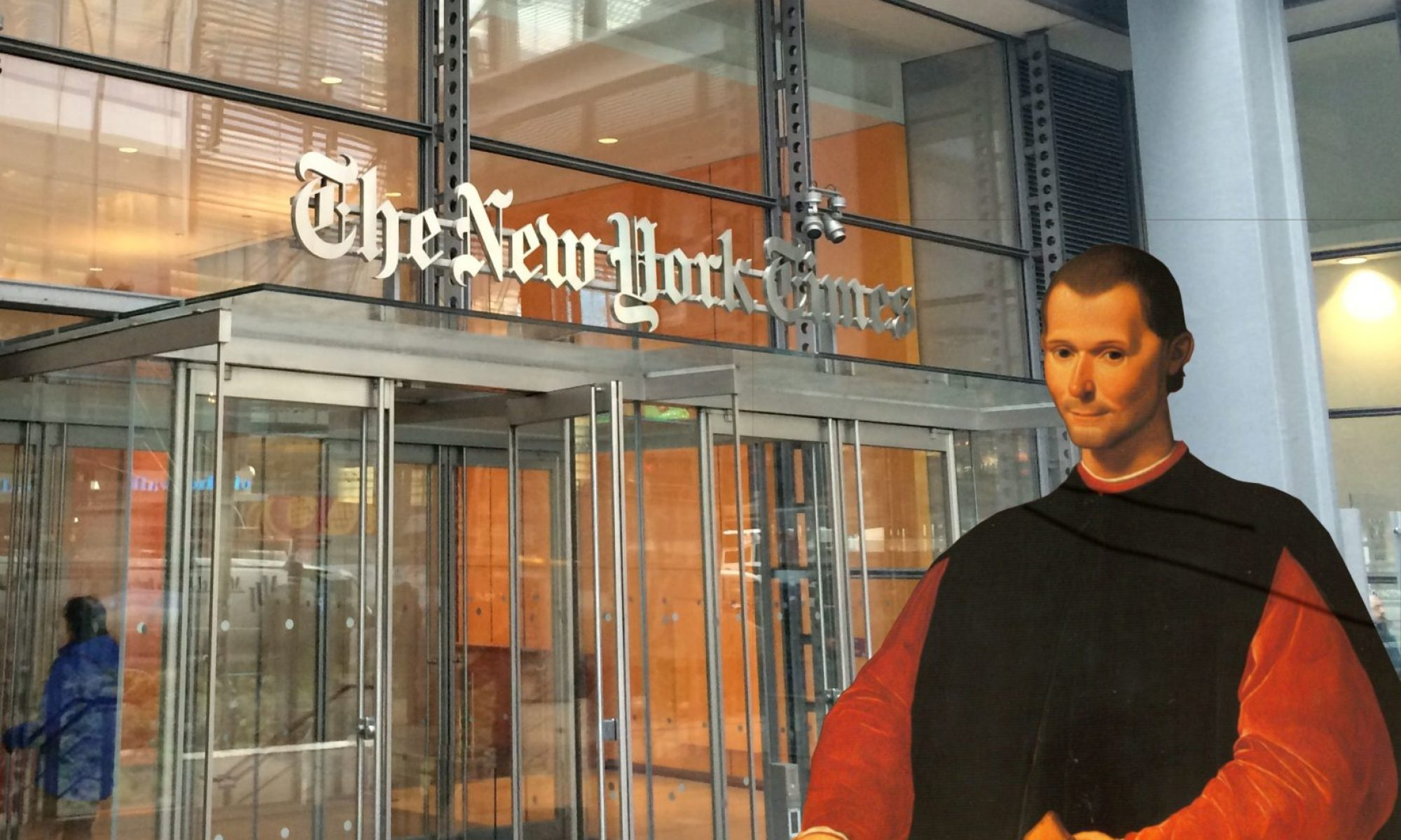 Machiavelli at the NYT