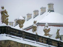 The Dresden castle...under snow.