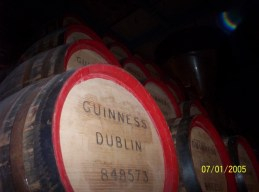 I don't believe there is Guinness inside