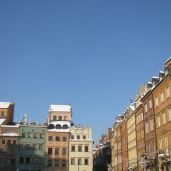 Another part of Warsaw's old town.