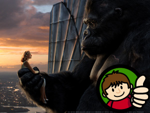 King Kong Thumbs Up