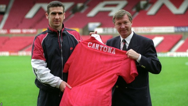 Cantona and Ferguson