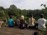 Meditate to alleviate stress
