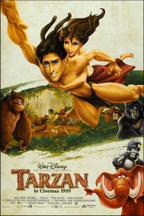 Anthony39s Film Review Tarzan 1999