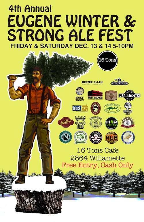 Eugene Winter and Strong Ale Fest