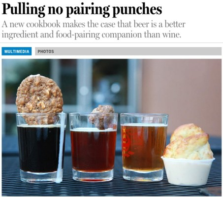 Craft Beer Cookbook article