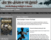 Forever The Road Book Spotlight - Are You Afraid of the Dark?