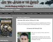 AF Stewart's Author Interview with Anthony St. Clair