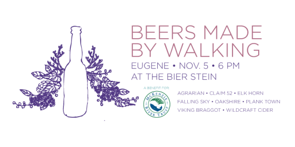 Beers Made by Walking - Eugene beers