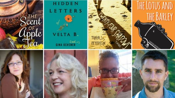 Read Local - 4-author book launch party, Aug. 25, Tsunami Books, Eugene, OR