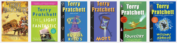 The Discworld books that started it all