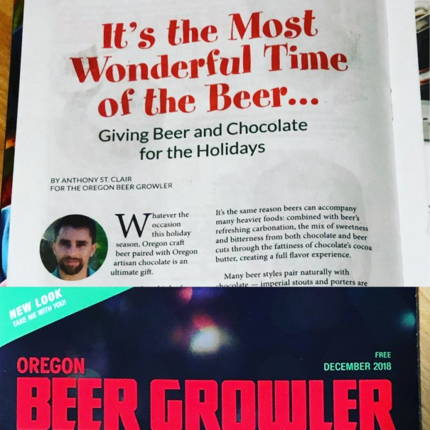 Food article: It's the Most Wonderful Time of the Beer... Giving Beer and Chocolate for the Holidays