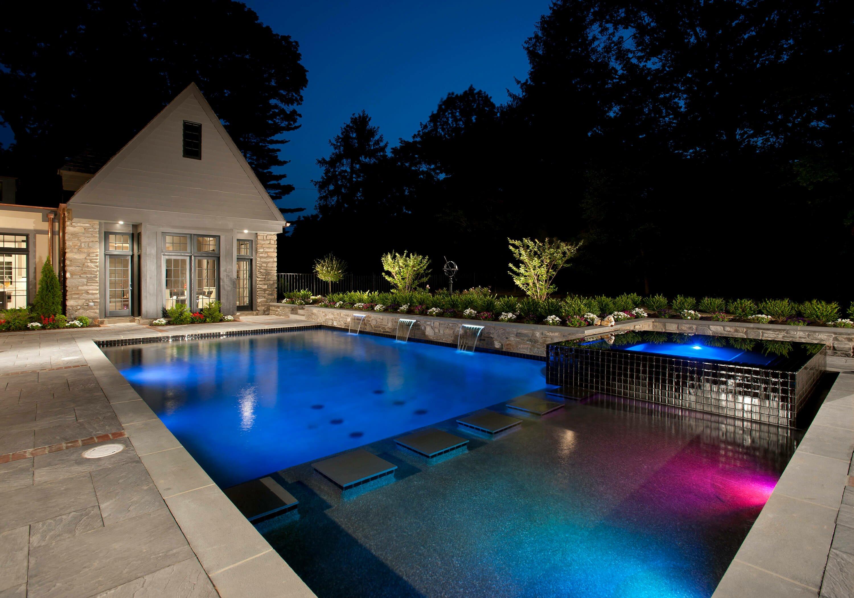 Modern Inground Pool Designs from Anthony  Sylvan