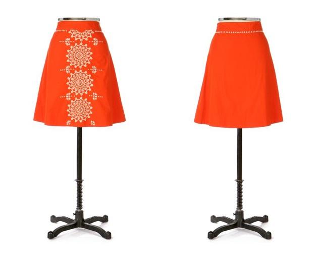 Gilded Dawn Skirt