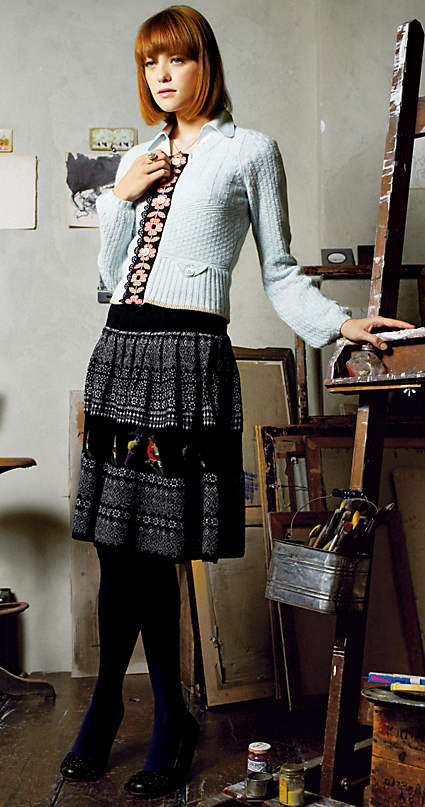 Fairisle Sweater Skirt