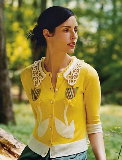 Anthropologie Sweet Elation Cardigan (2007)