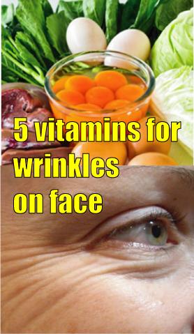 vitamins for wrinkles on face