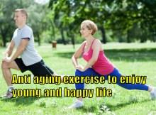 anti-aging exercise