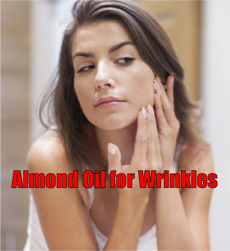 Almond Oil for Wrinkles