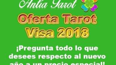 Photo of Oferta Tarot Visa 2018 ¡Pregunta todo lo que desees a un precio especial!