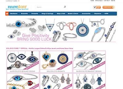 Tienda de amuletos Evil Eye Store