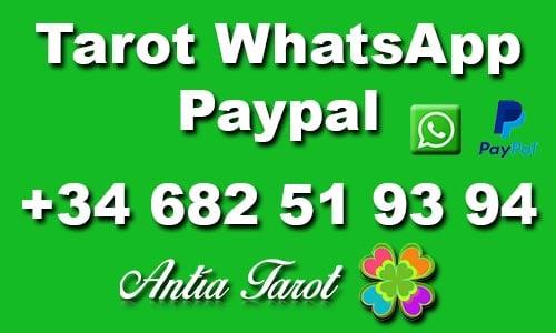 Tarot WhatsApp PayPal en ANTÍA TAROT
