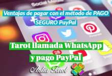 Photo of Tarot llamada WhatsApp y Pago PayPal