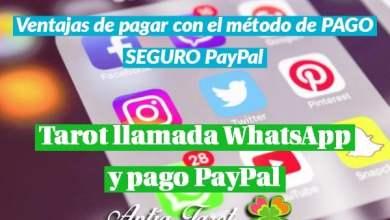 Photo of Tarot llamada WhatsApp y Pago PayPal