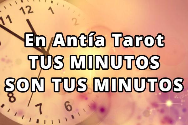 Antía Tarot tus minutos son tus minutos