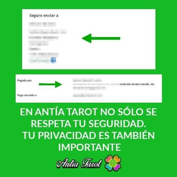 PRIVACIDAD EN ANTIA TAROT