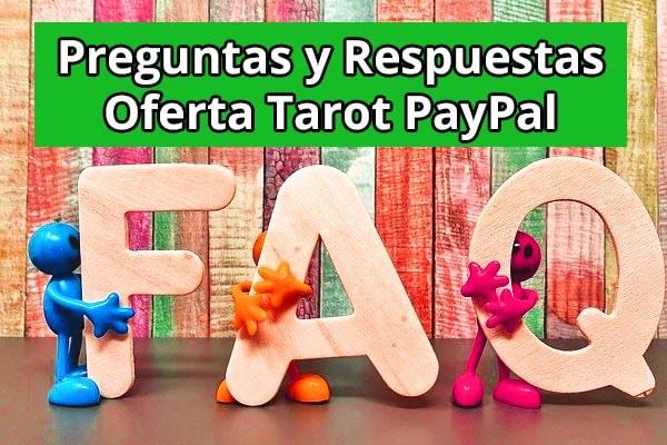 Oferta Tarot PayPal Preguntas