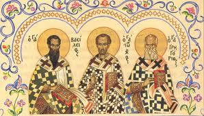 Οι τρεις δάσκαλοι, οι Τρεις Ιεράρχες