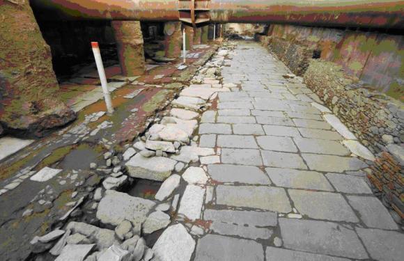 Υπογραφές για τη διάσωση Βυζαντινών μνημείων στο σταθμό του Μετρό στην Οδό Βενιζέλου