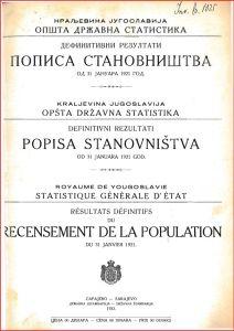Αποκάλυψη του Αντίβαρου: ολόκληρη η απογραφή του 1921 στην Γιουγκοσλαβία – Δεν βρέθηκε ούτε ένας «Μακεδόνας». (χωρίς θαυμαστικό)