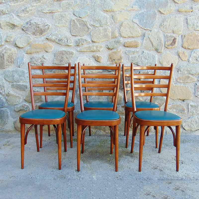 sedie vintage da scrivania in legno realizzate da velca legnano negli anni '70. Sei Sedie Vintage Design Anni 60 Modernariato Italia