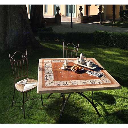 Scopri la collezione · tavoli in travertino. Tavoli In Travertino E Cotto Antica Deruta
