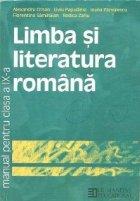 Limba si literatura romana  Manual pentru clasa a IXa