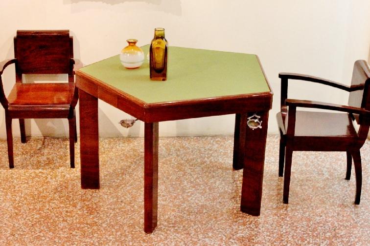 MelchiorreBega | Set tavolo pentagonale e 5 sedute