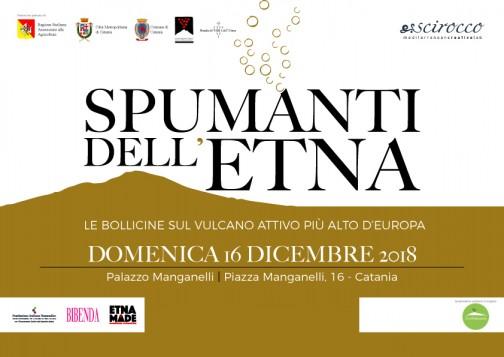SPUMANTI DELL'ETNA – Domenica 16 Dicembre 2018 – Palazzo Manganelli Catania