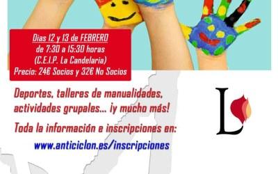 Campamento Urbano CEIP La Candelaria – 12 y 13 de FEBRERO