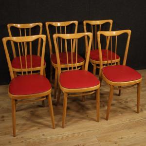 Coppia di sedie con braccioli; Sedie Modernariato Antiquariato Su Anticoantico