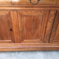 Kitchen Cabinet Reface Lantern Lighting 核桃3个门和3个抽屉的capuccina橱柜 恢复 进行中 关于卖方