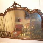 Spiegel Kamin Lackiertes Holz Fake Wood Venedig Antiquita Ten Auf Anticoantico
