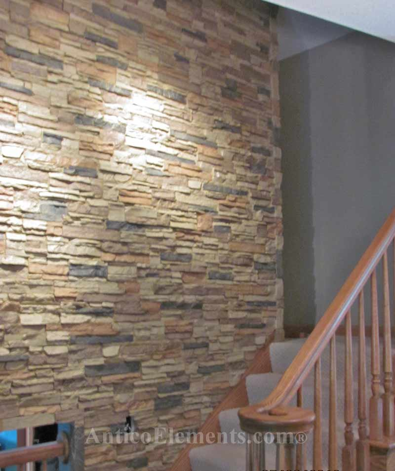 Crating Faux DIY Stone Walls With Interlocking Panels