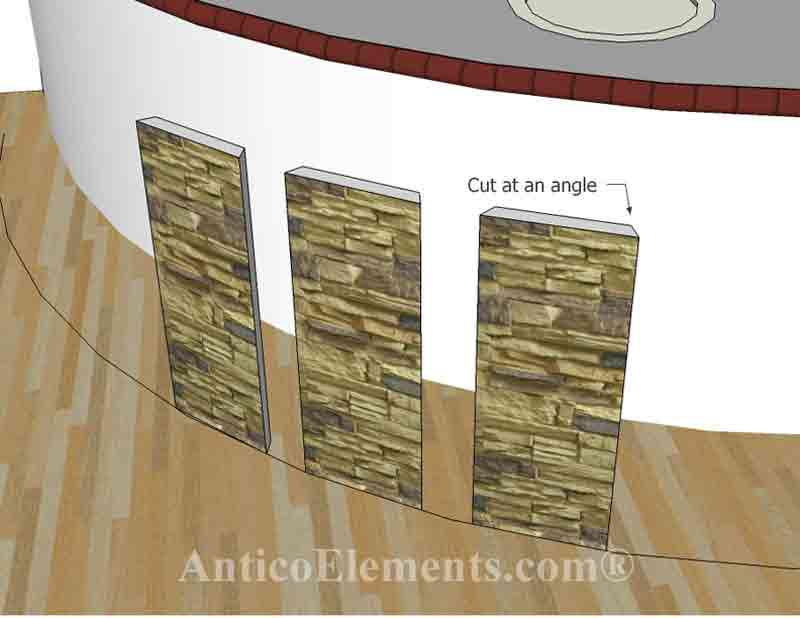 How To Install Our Panels On A Curved Surface  Antico