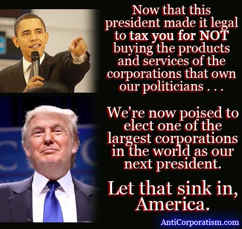 Obama Trump corporation