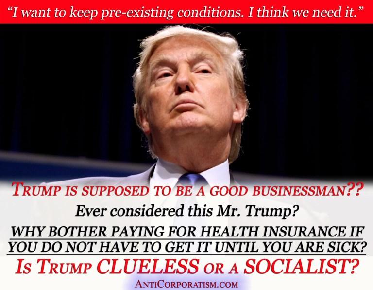 Trump preconditions