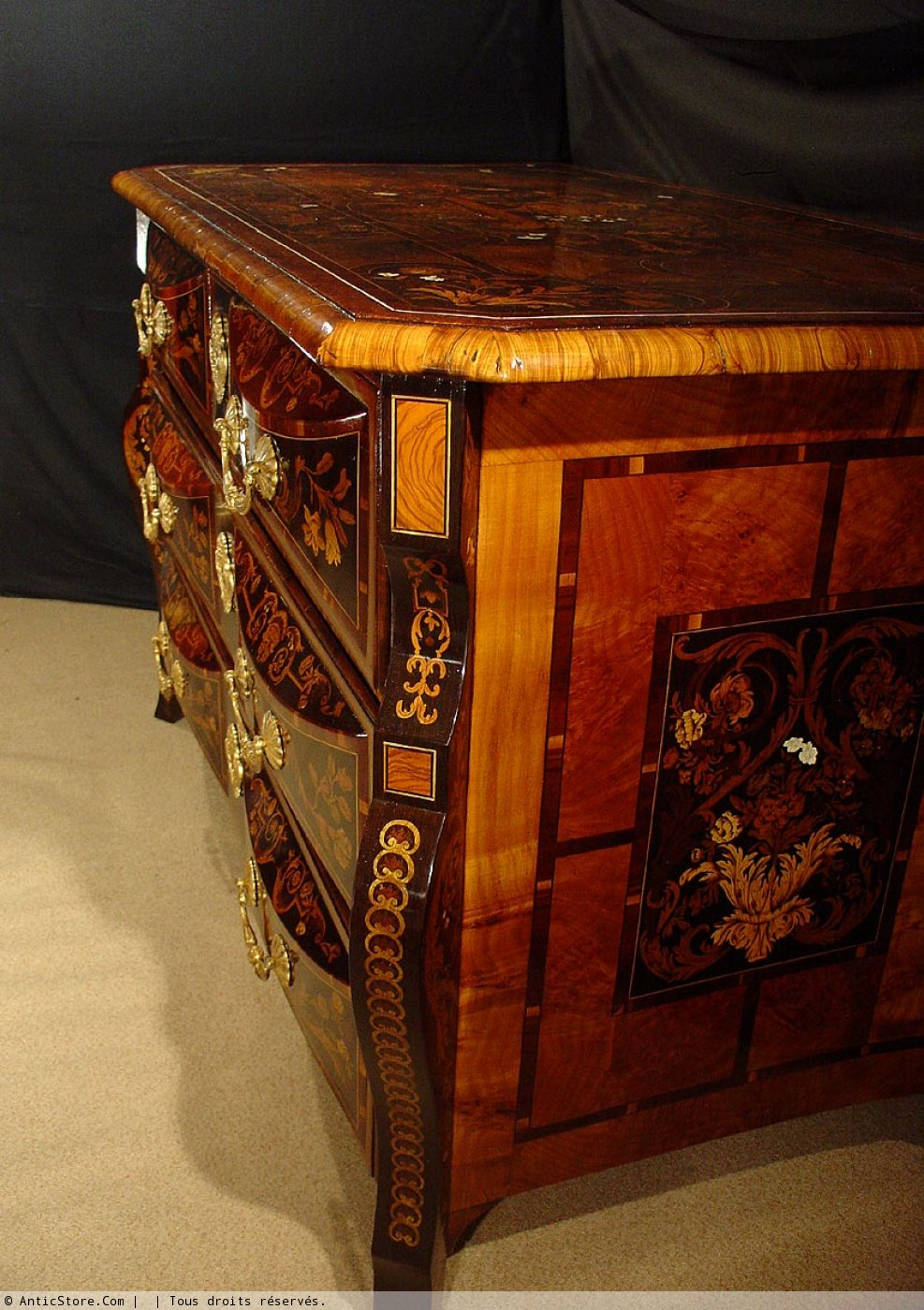 Commode XVIIe Sicle Louis XIV N32979