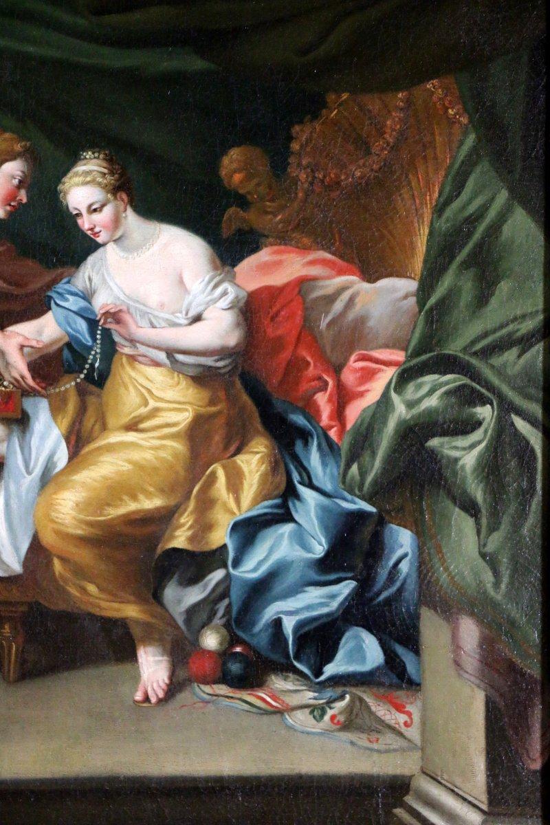 Italian School of the 17th Century  Mythological Venus and Mars  Ref63535
