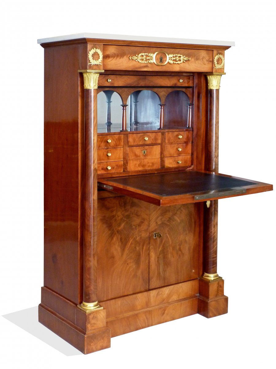 Secrtaire En Armoire Dpoque Empire Attribu Jacob